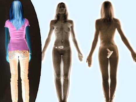 Real Naked Body Scanner