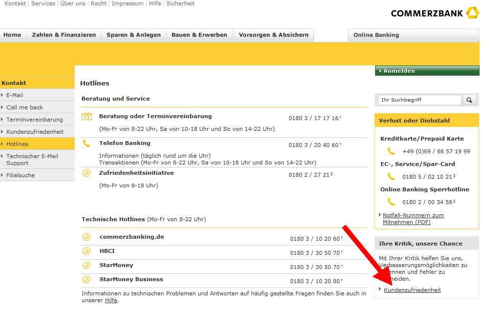Commerzbank login