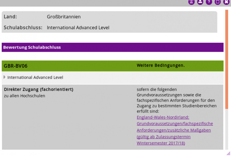 A level requirement - Education - Toytown Germany