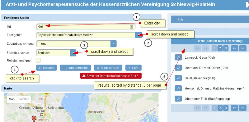ScreenCapture 4 physio doc in Kiel - 'Arzt- und Psychotherapeutensuche der KVSH'.png