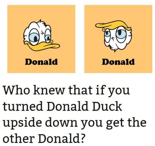 Image result for donald trump donald duck