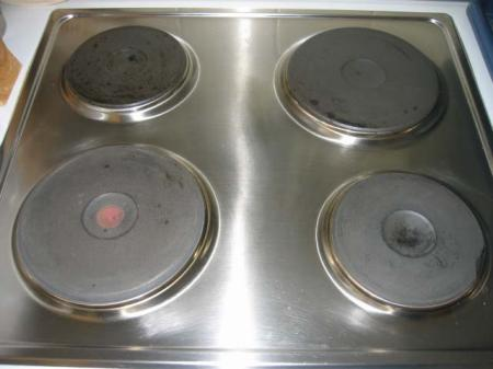 Stove Top Oven Burner Cleaning
