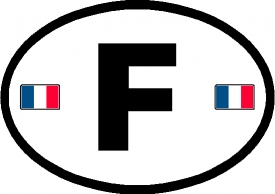 Export Plate For Car Bought From France