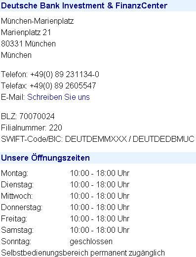 bic deutsche bank