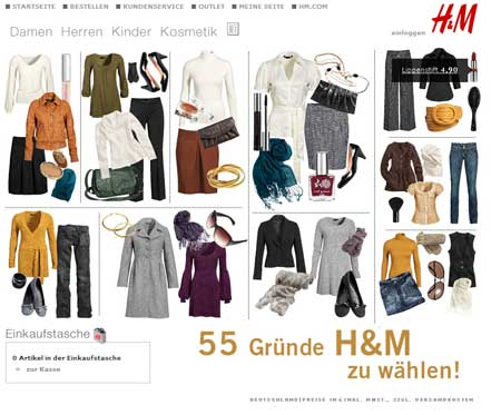 h m online shopping german news toytown germany. Black Bedroom Furniture Sets. Home Design Ideas