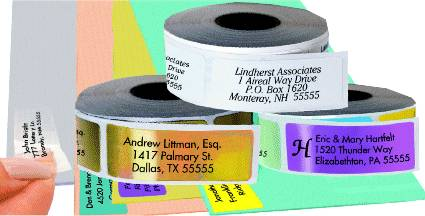 printed sticky address labels life in munich toytown germany