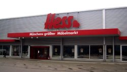 m max furniture superstore life in munich toytown germany. Black Bedroom Furniture Sets. Home Design Ideas