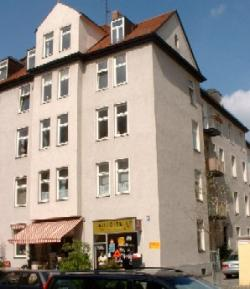 A typical Munich apartment block